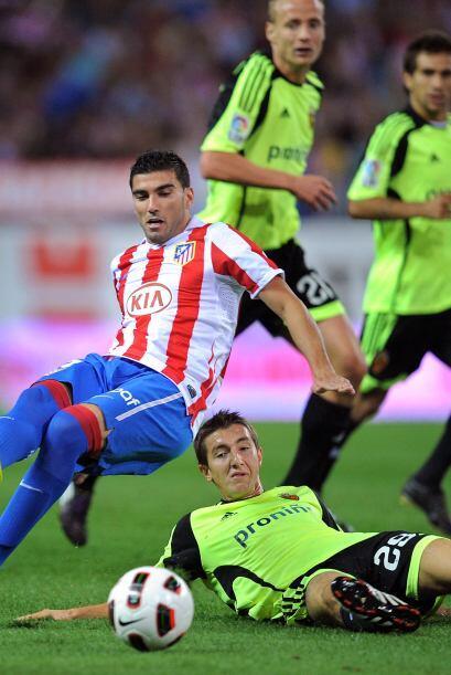 El hombre del 'Atleti' José Antonio Reyes vio la tarjeta roja directa al...