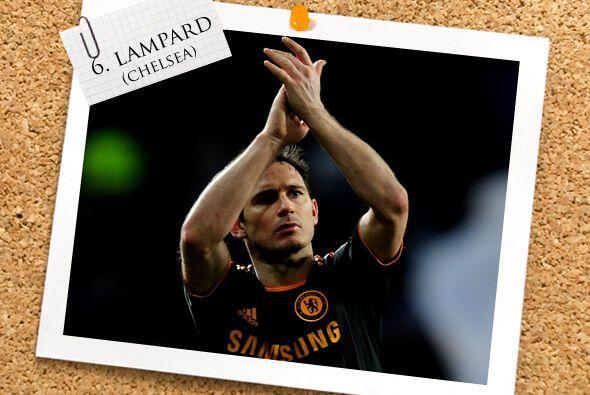 Frank Lampard fue el líder del Chelsea moviendo los hilos rumbo a la vic...