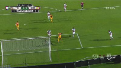 Tigres resuelve la serie ante Herediano con gol agónico de Ismael Sosa