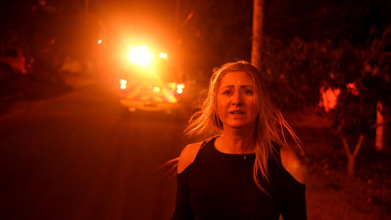 Incendios Sur de California rostro