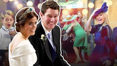 En video: los seis momentos curiosos de la boda real de Eugenie que tienes que ver