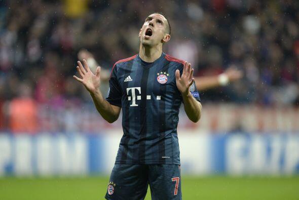 El jugador de Bayern Munich compite palmo a palmo con Messi y Cristiano...