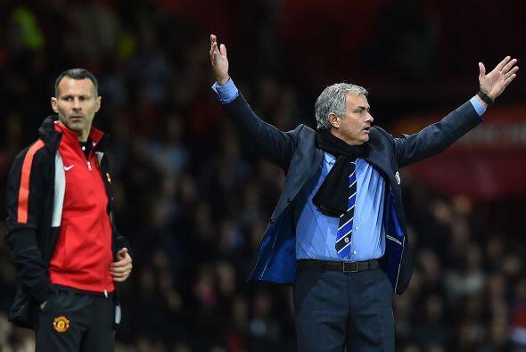 Pero no fue un juego sencillo para Mourinho y sus pupilos, pues los 'Red...