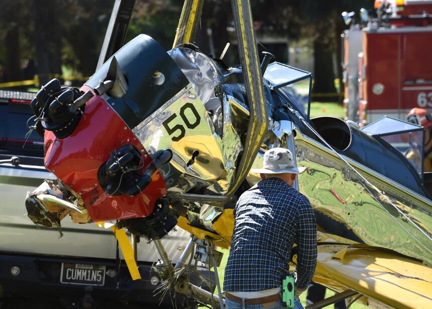 Harrison Ford accidente