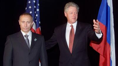 En fotos: Los encuentros de Vladimir Putin con presidentes de EEUU