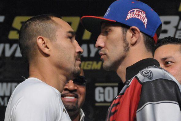 Una de las peleas que promete más acción es la de Humberto...