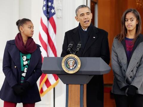 El presidente de Estados Unidos, Barack Obama, indultó simb&oacut...