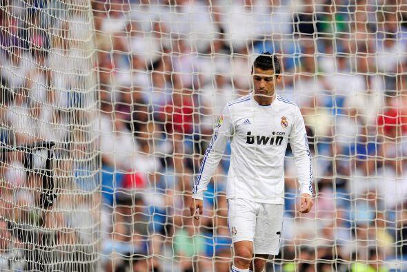 Cristiano consiguió su premio personal. Goleador, 'pichichi'.