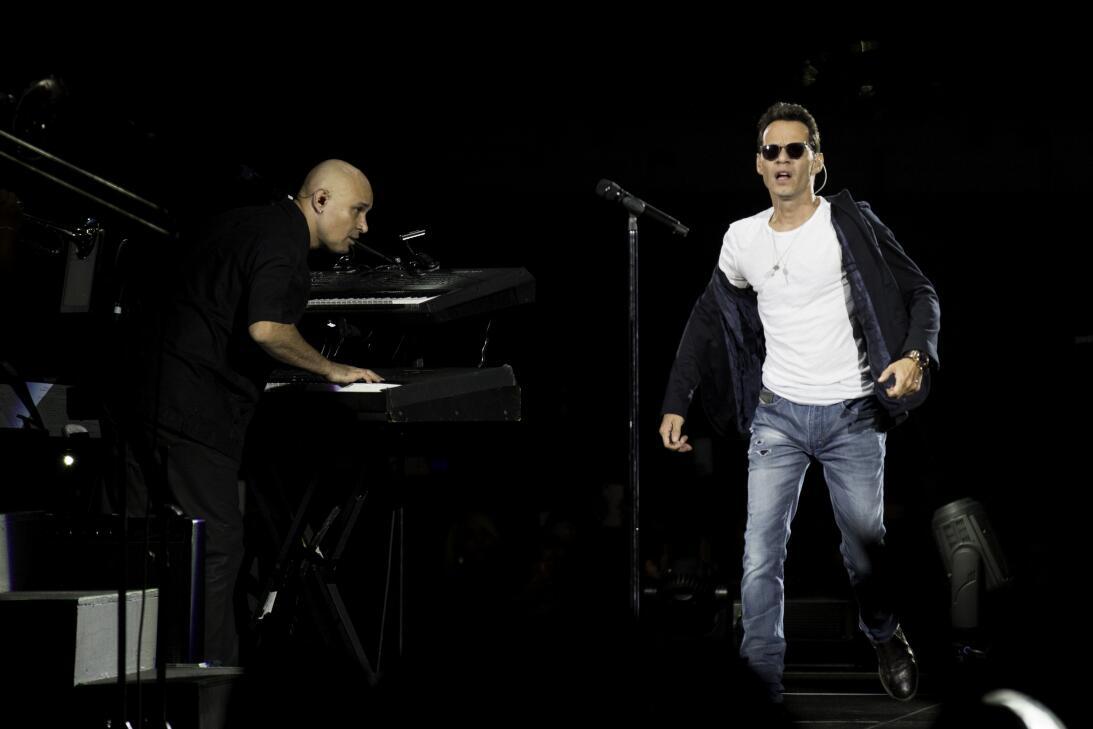 Mark Anthony en el America Airlines Arena de Miami