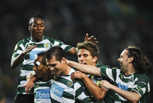 Un gol de Anderson Polga bastó para que el Sporting se impusiera...