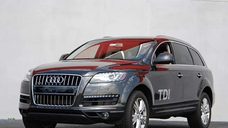 La Audi Q7 TDI es la versión con motor diesel de la lujosa SUV alemana.