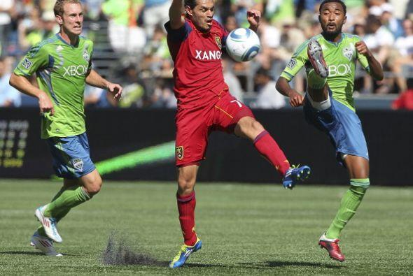 Real Salt Lake derrotó a Seattle Sounders por marcador 1-2 y logró rompe...