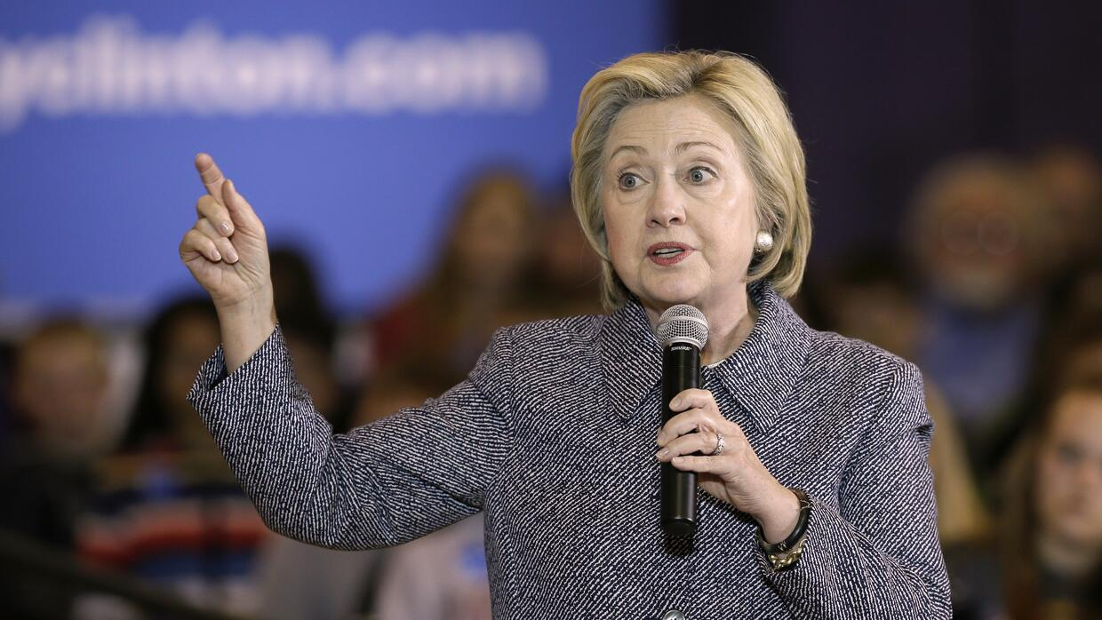 Hillary Clinton, partidaria del aborto legal