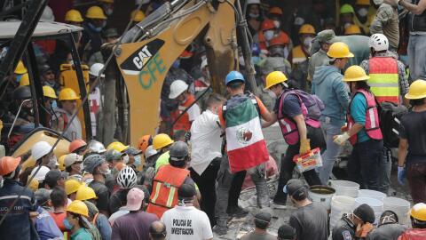 La solidaridad de los mexicanos salió a relucir después de...