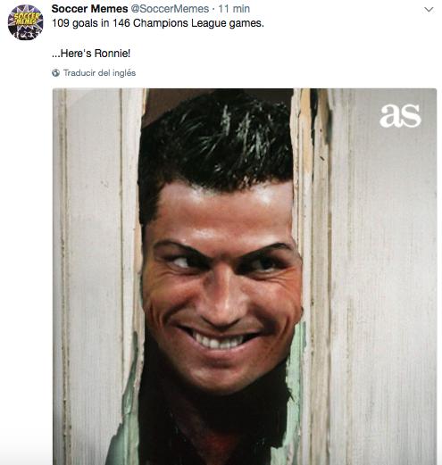 La mano de Ramos, el doblete de Cristiano y más divertidos memes de la j...