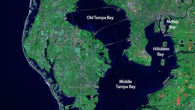 Tampa Bay map