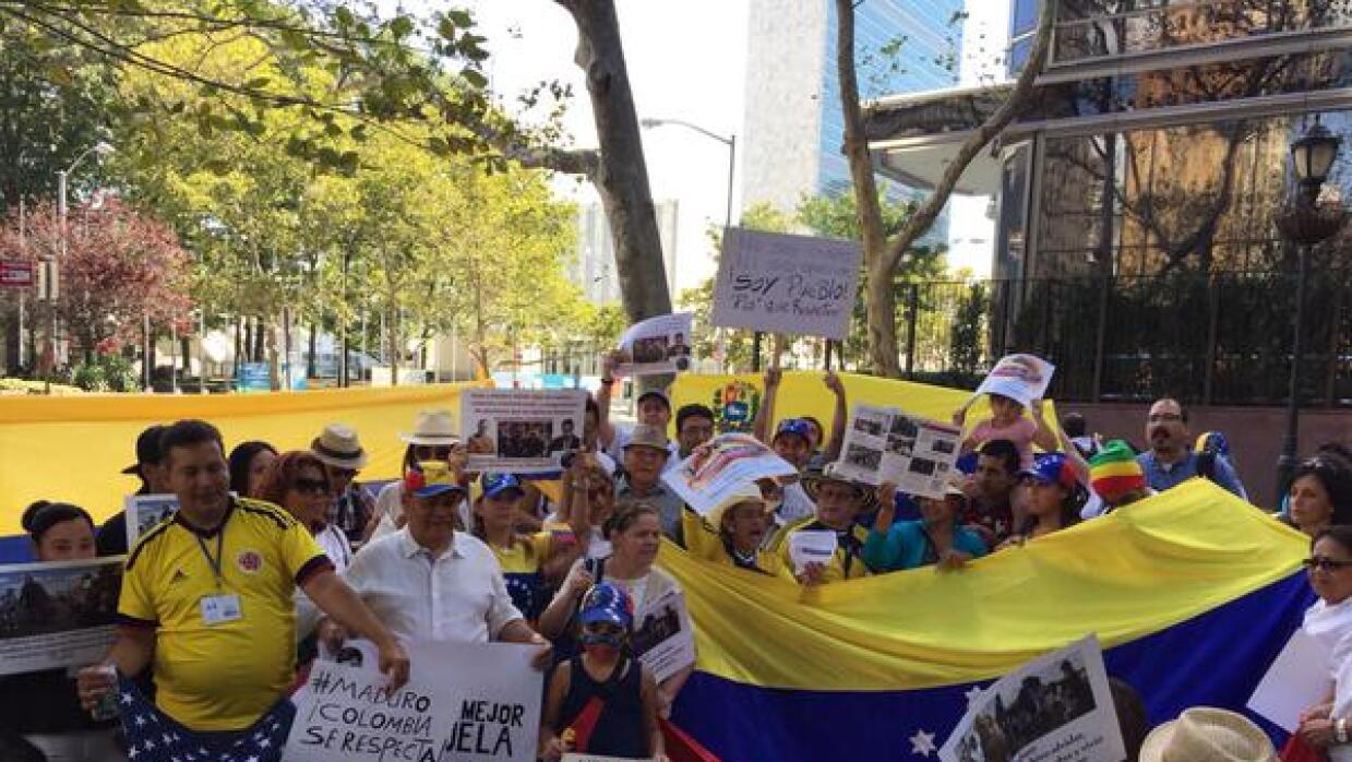 Venezolanos en NY