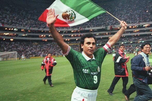 Hugo Sánchez, atacante de México en 1986, jamás pat...