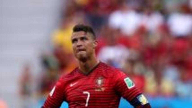 Cristiano Ronaldo luego del triunfo portugués ante Ghana, pero que fue i...