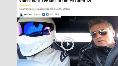 The Stig y Matt LeBlanc