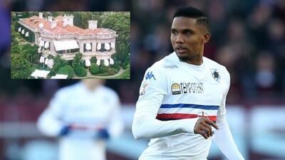 El camerunés adquirió una mansión de más de 30 mil metros cuadrados.