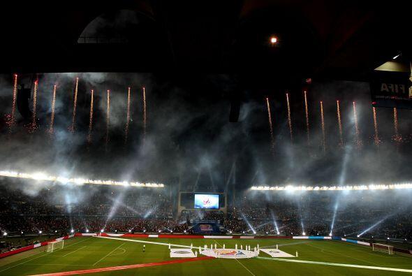 El último día en el Mundial de Clubes arrancó con una espectacular cerem...