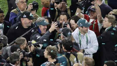 En fotos Super Bowl LII: Philadelphia Eagles vs. New England Patriots