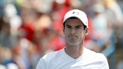 La caída de un desconocido Andy Murray en la primera ronda del Masters 1000 de Cincinnati