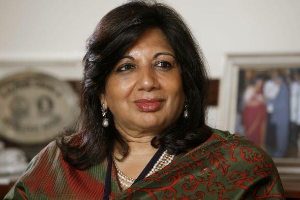 92.- KIRAN MAZUMDAR-SHAW: Presidenta de Biocon Limited, una compa&ntilde...