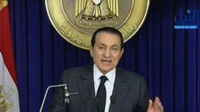 El ex presidente de Egipto, Hosni Mubarak, está grave.