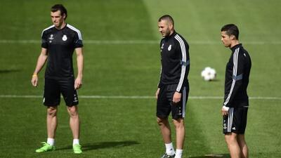 Los delanteros del Real Madrid alistan su reaparición en la Liga.