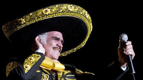 Aunque Vicente Fernández no pisará más un escenario...