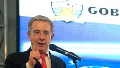 El ex presidente de Colombia, Álvaro Uribe.