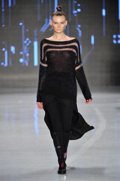La malla fina será otra de las telas que crearán rayas translúcidas, en...