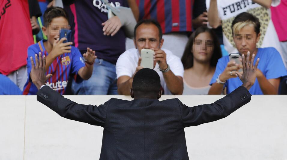 Ousmane Dembélé vuelve a los entrenamientos con Barcelona 63639534361995...