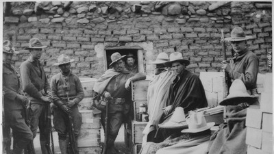 In photos: The last invasion of Mexico by the United States. 100 years before Trump.