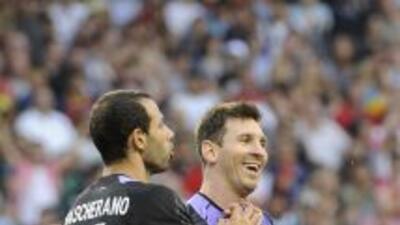 Mascherano prefiere aceptar la necesidad de aprovechar a Messi que negar...
