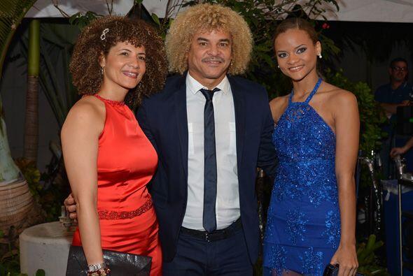 Una familia con muchos cabellos, Carlos 'El Pibe' Valderrama, nominado c...