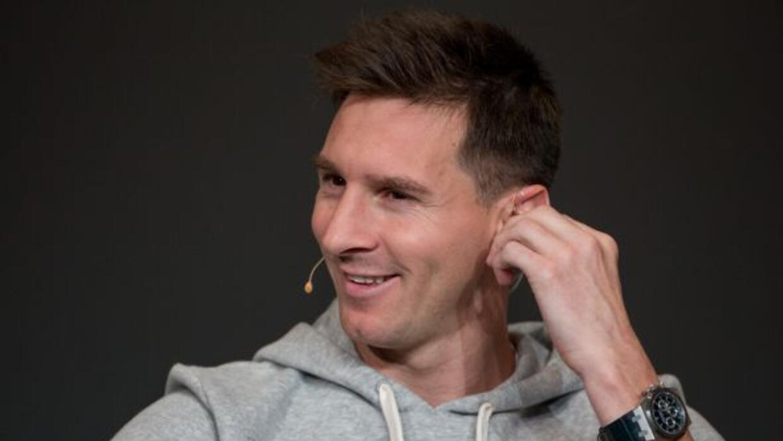 Messi se ausentó de la práctica barcelonista.