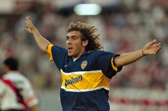 Sergio Daniel Martínez vistió la camiseta del equipo 'Xeneize' d...