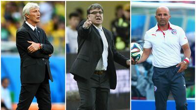 Seis estrategas de Argentina dirigirán en Chile.