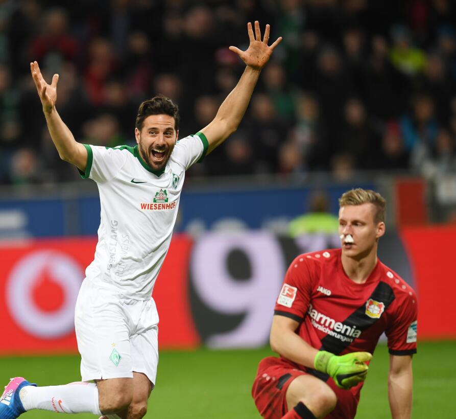 Tercer partido sin poder ganar para el Leverkusen en la Bundesliga Getty...