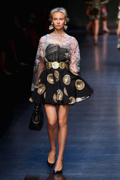 Dolce & Gabbana Milan Fashion Week 2013