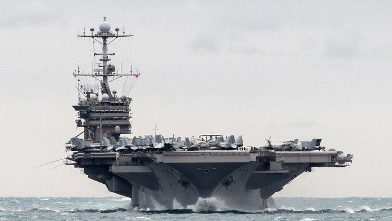 El portaaviones estadounidense USS Harry S Truman