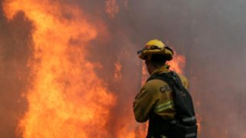 Hasta ahora el fuego ha destruido más de 1,200 hectáreas y amenaza una z...