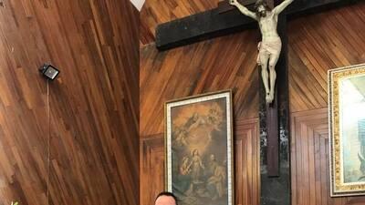 Festejo en familia: Joel Lizárraga celebró la primera comunión de su hijo Diego