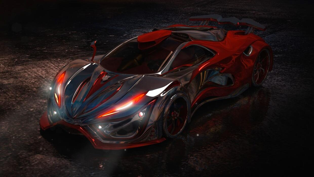 Inferno Exotic Car