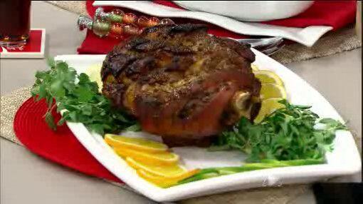 Marinada de pernil caribeño: Esta receta es perfecta para una fiesta con...
