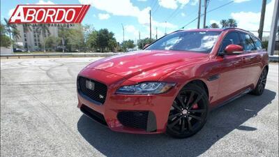 Primer Vistazo: 2018 Jaguar XF S Sportbrake | A Bordo