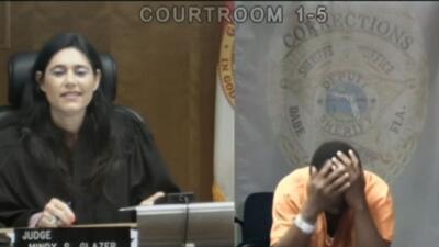 Juez y acusado se reconocen en corte de fianza